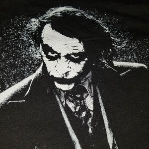"""Authentic """"The Dark Night"""" Joker T-Shirt"""